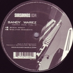 WAREZ, Sandy - Hard Ace Vol 3 (Front Cover)
