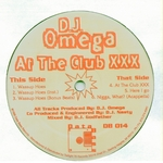 DJ OMEGA - At The Club XXX (Front Cover)