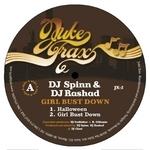 DJ SPINN & DJ RASHAD - Girl Bust Down EP (Front Cover)