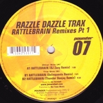 RAZZLE DAZZLE TRAX - Rattlebrain Remixes Part 1 (Front Cover)