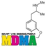 SMF vs BAS & RAM - MDMA (Front Cover)