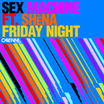SEX MACHINE feat SHENA - Friday Night (Back Cover)