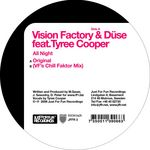 VISION FACTORY/DUSE - All Night (Front Cover)