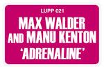 WALDER, Max/MANU KENTON - Adrenaline (Back Cover)