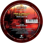 CHUS & CEBALLOS feat DEREK CONYER - Wrong About Me (Part One) (Front Cover)