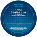 STRYKE - Everything Is You (Back Cover)