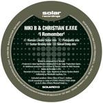 NIKI B & CHRISTIAN EFFE - I Remember (Back Cover)