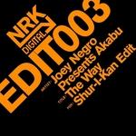 NEGRO, Joey presents AKABU - The Way (Shur-I-Kan edit) (Front Cover)