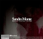 MONTE, Sandro - Reflections EP (Back Cover)