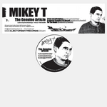MIKEY T/DJ DIXIE/AWEKID - The Genuine Article (Front Cover)