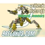 KENJI, Alex - Rebel Robot (extended shots) (Front Cover)