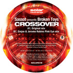 SASSOT presents BROKEN TOYS - Crossover (Back Cover)