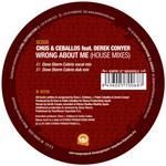 CHUS & CEBALLOS feat DEREK CONYER - Wrong About Me (house mixes) (Back Cover)