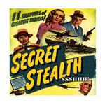 SECRET STEALTH - Ssshhh! (Front Cover)