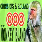 DIS, Chris/ROLAND VAN DEN TOORN - Monkey Island EP (Back Cover)