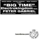 ELECTROKINGDOM feat PETER GABRIEL - Big Time (Front Cover)