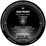 LEGAZ PROJECT - Talkin 2 Me (Back Cover)