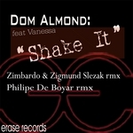 DOM ALMOND feat VANESSA - Shake It (Front Cover)