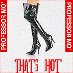 PROFESSOR MO - That's Hot (Front Cover)