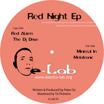 OZ, Peter - Red Night EP (Front Cover)
