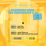 LEWIS, Demarkus - The Houseguest EP (Back Cover)