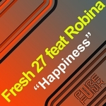 FRESH 27 feat ROBINA - Happiness (Front Cover)