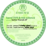 PARASOUL/MARTIN HARMONY - Better Friends EP (Front Cover)