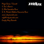 SORIA, Migue - Sunset (Back Cover)