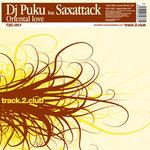 DJ PUKU feat SAXATTACK - Oriental Love (Back Cover)