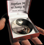 STEPHAN M vs SAMY K - Right Wrong (Front Cover)