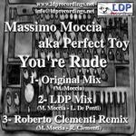 MOCCIA, Massimo aka PERFECT TOY - You're Rude (Back Cover)
