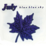JULY - Blue Blue Sky (Front Cover)
