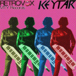 RETROVOX - Keytar (Front Cover)