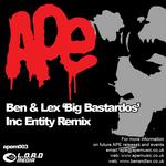 BEN & LEX - Big Bastardos (Front Cover)
