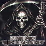 PARANOID JACK - No Rest For The Wicked (Front Cover)