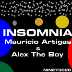 ARTIGAS, Mauricio/ALEX THE BOY - Insomnia (Mauricio Artigas remix) (Back Cover)