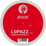 LOPAZZ - Share My Rhythm (Front Cover)