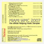 VARIOUS - Miami WMC 2007 Sampler (Back Cover)
