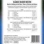 SCHROYDER, Steve - Klänge Bilder Welten (Back Cover)