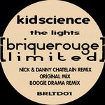 KIDSCIENCE aka JUSTIN ROBERTSON & GEZ - The Lights (Front Cover)