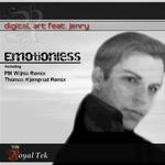 DIGITAL ART feat JENRY - Emotionless (Back Cover)