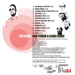 TENOR, Jimi/KABU KABU - Joystone (Back Cover)