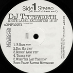 DJ TITTWORTH - White Label Exclusive (Front Cover)