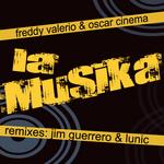 VALERIO, Freddy/OSCAR CINEMA - La Musika EP (Back Cover)