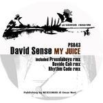 SENSE, David - My Juice (Front Cover)