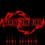 SANDVIK, Kent - Start The Fire (Front Cover)