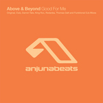 ABOVE & BEYOND feat ZOE JOHNSTON - Good For Me (remixes) (Front Cover)
