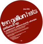 TEN GALLON HATS - Patience EP (Back Cover)