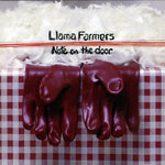 LLAMA FARMERS - Note On The Door (Front Cover)