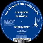CLEARCOM & DUNWICH - Misunder (Front Cover)